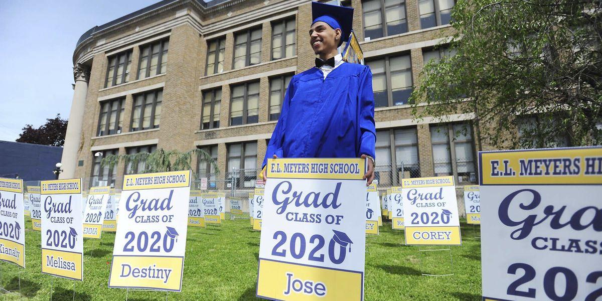 Graduation ceremonies draw thousands despite pandemic fears