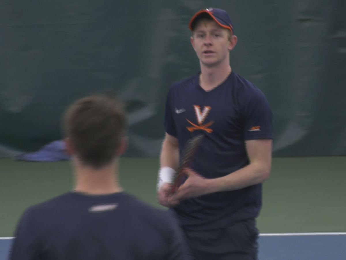 #22 UVA men's tennis beats Liberty 7-0 in season opener