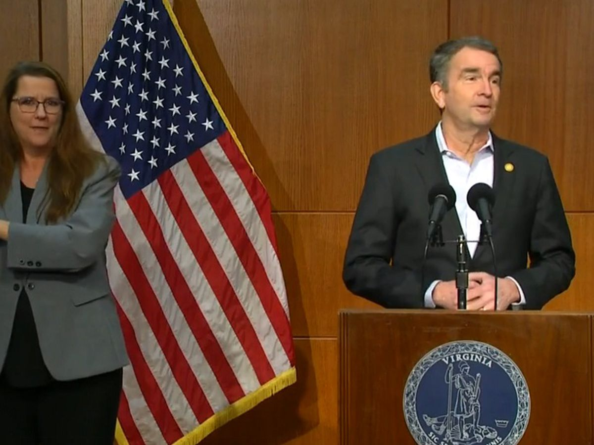 Gov. Northam announces easing of some restrictions, updates vaccine status in Va.
