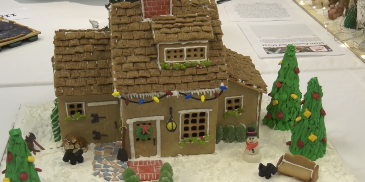 Charlottesville Ronald McDonald house hosts annual Virginia Gingerbread Christmas competition