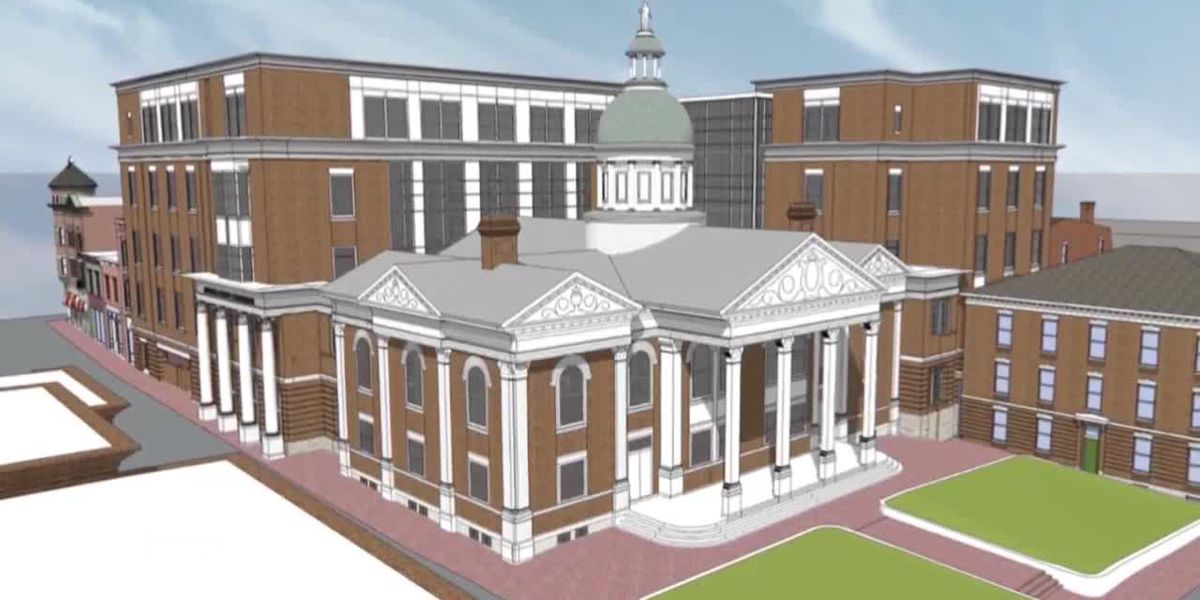 Staunton's Historic Preservation Commission says 'no' to Augusta courthouse expansion