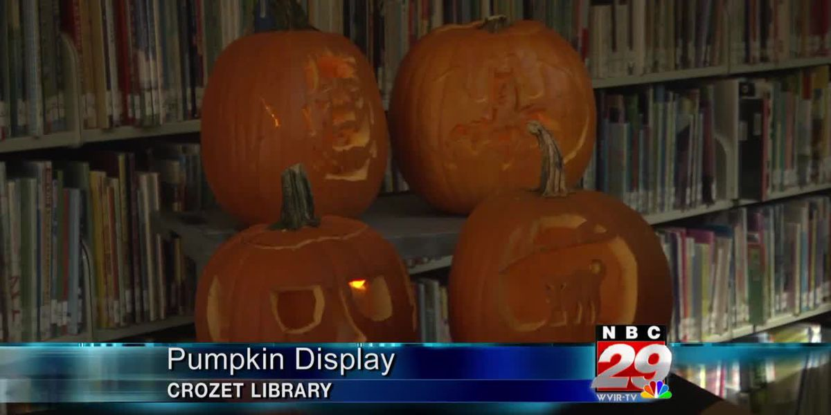 Crozet Library hosting drive-through pumpkin carving display