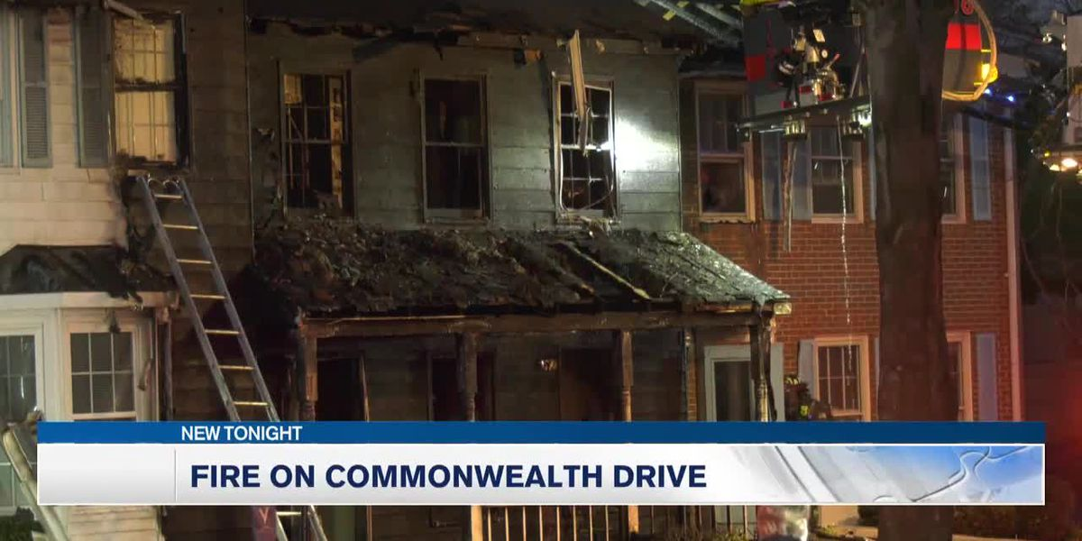 No injuries, but damage done to home, during fire on Commonwealth Drive