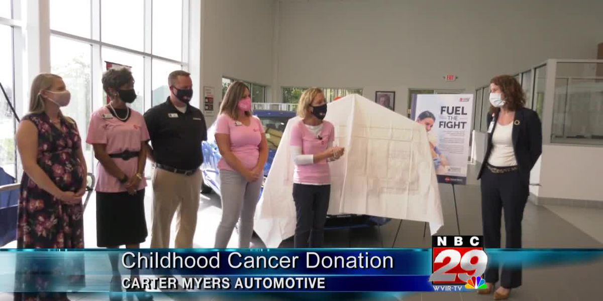 Carter Myers Automotive working with families impacted by pediatric cancer