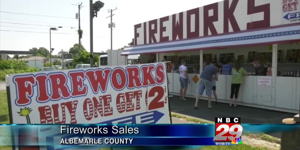Firework stand in Albemarle Co. says crowds thinner this year