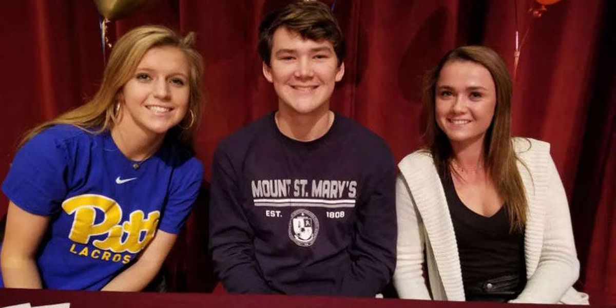 Three St. Anne's Belfield lacrosse stars sign with Division I schools