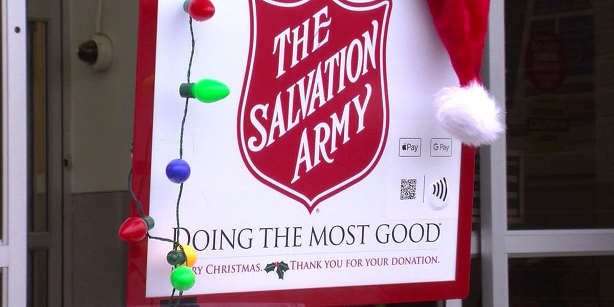 Salvation Army encourages after-holiday giving