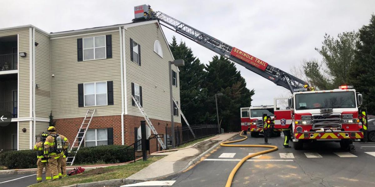 Crews fight fire at Albemarle Co. apartment