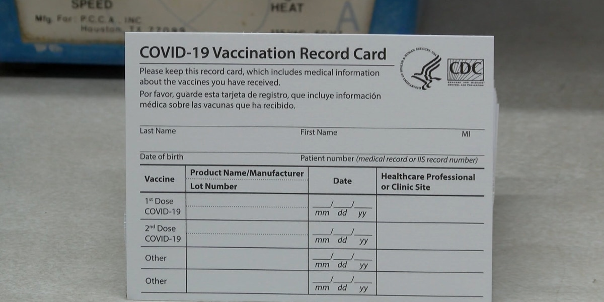 BRHD: Hold on to COVID-19 vaccination cards