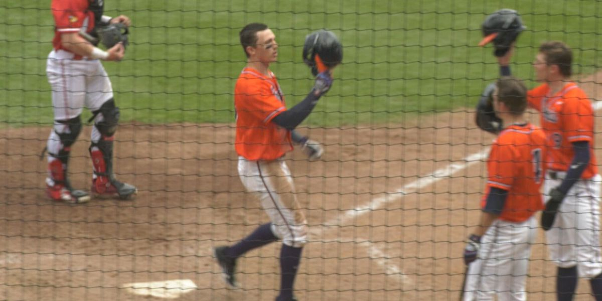 UVA baseball falls 8-2 against No. 7 Louisville in series finale