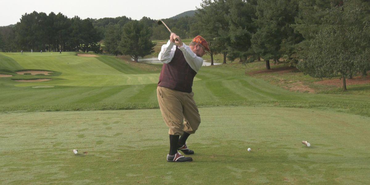 Hickory Golf tournament held at Birdwood Golf Course