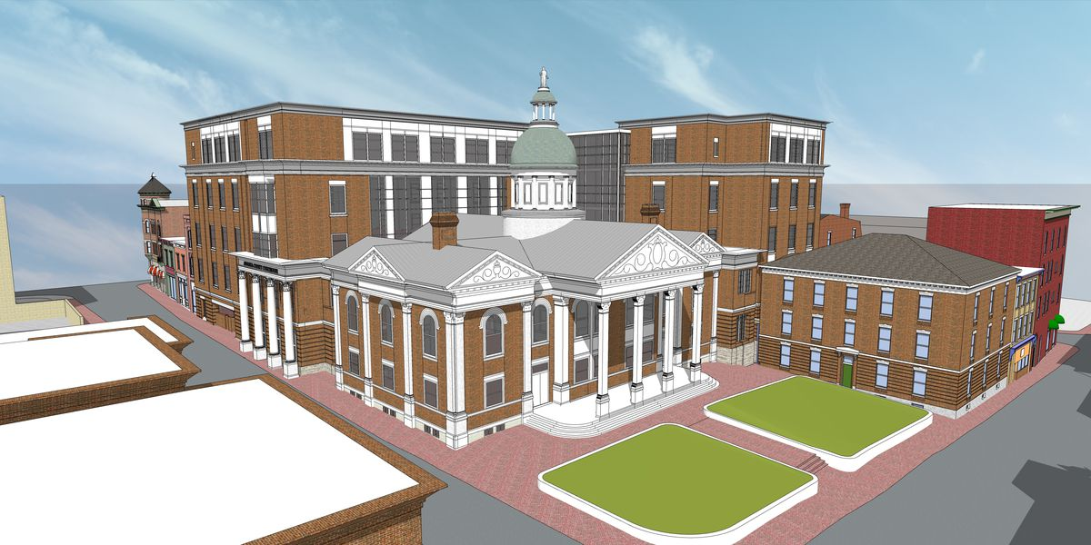 Augusta County submits courthouse expansion plan to Staunton commission