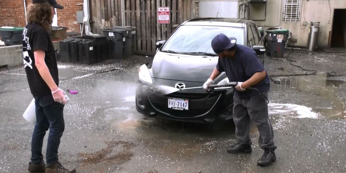 Whiskey Jar workers using car wash to raise funds for struggling staff