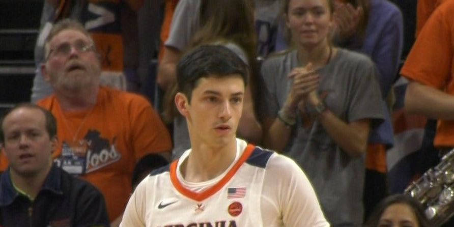 UVA Basketball Team Manager Matt Palumbo Makes Playing Debut