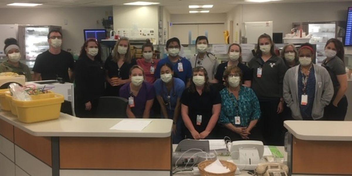 Nurses at UVA Medical Center discuss efforts during coronavirus pandemic