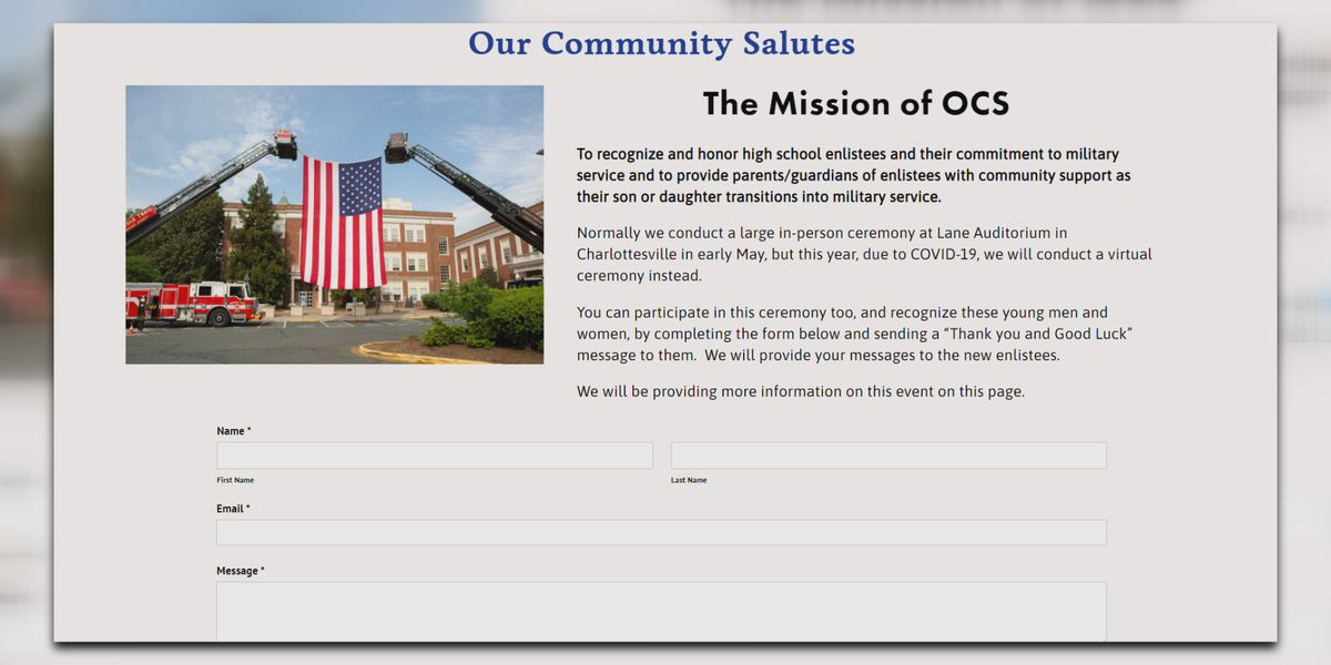 Parade Rest Virginia asks for community help in honoring military enlistees
