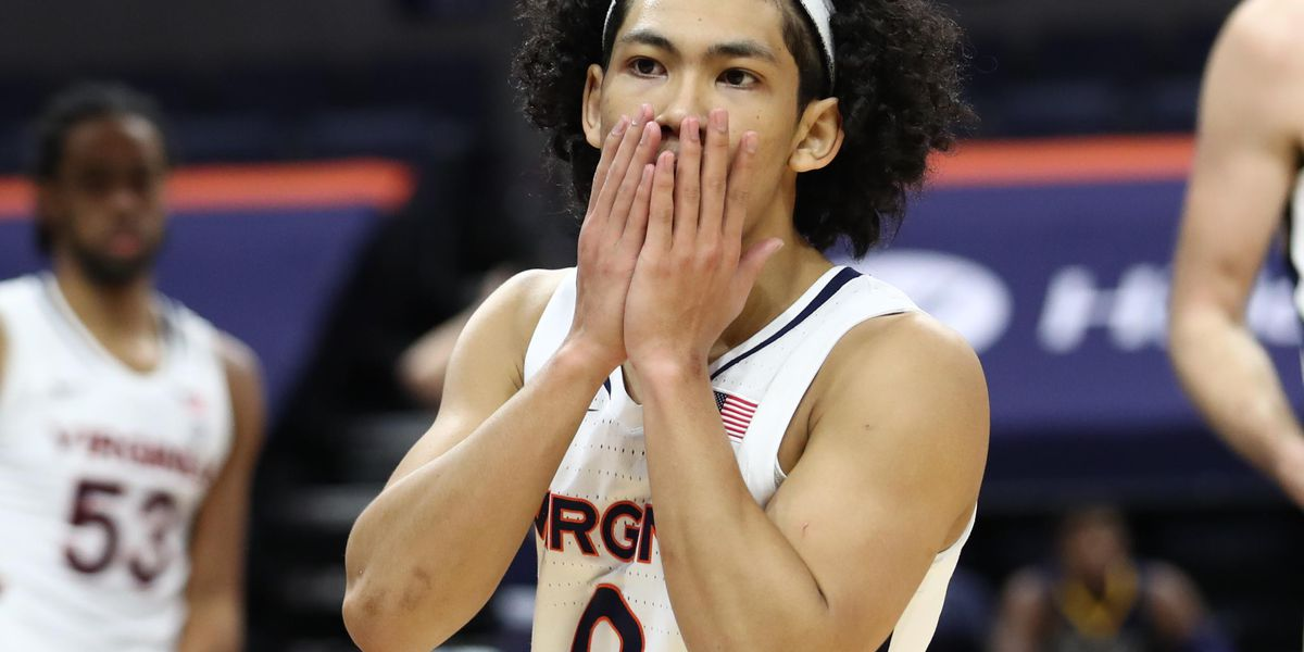 #15 UVA survives upset bid; beats Kent State 71-64 in overtime