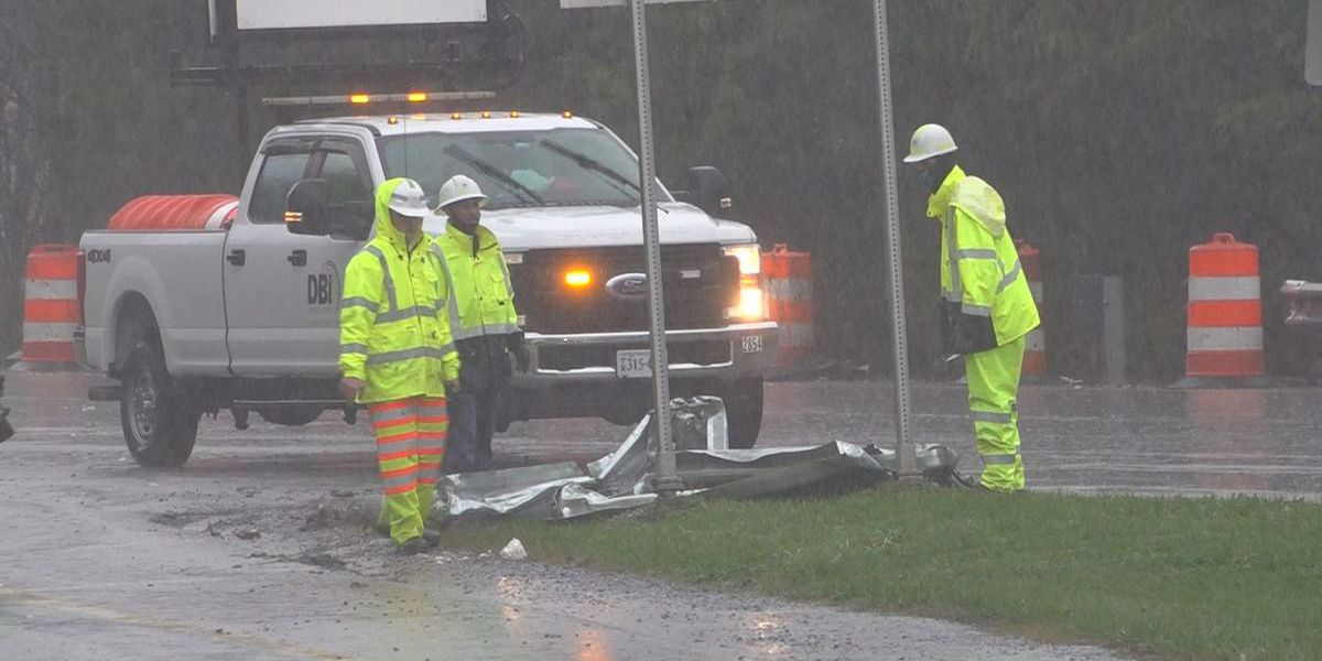 Tropical Storm Zeta causes crashes, flooding in Roanoke Valley