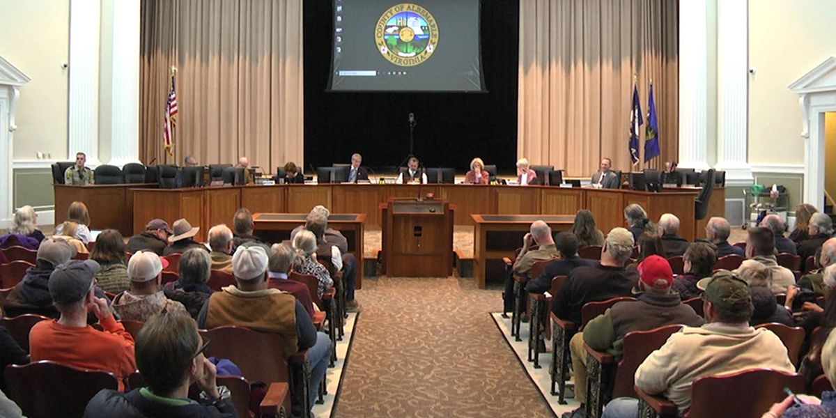 People urge Albemarle Co. Board of Supervisors to become a Second Amendment sanctuary