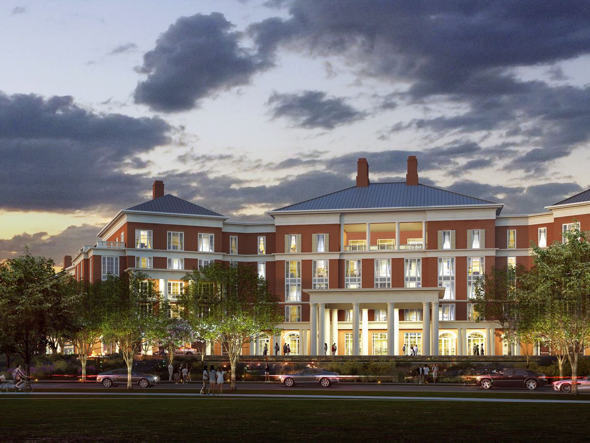 Construction underway at new UVA Inn at Darden