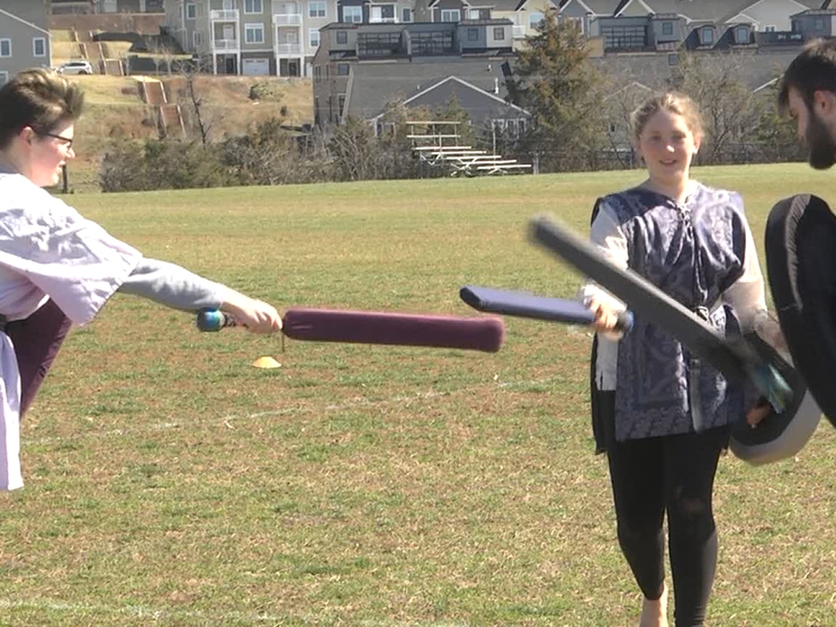 Charlottesville battle-gaming group brings fantasy fighting to fitness