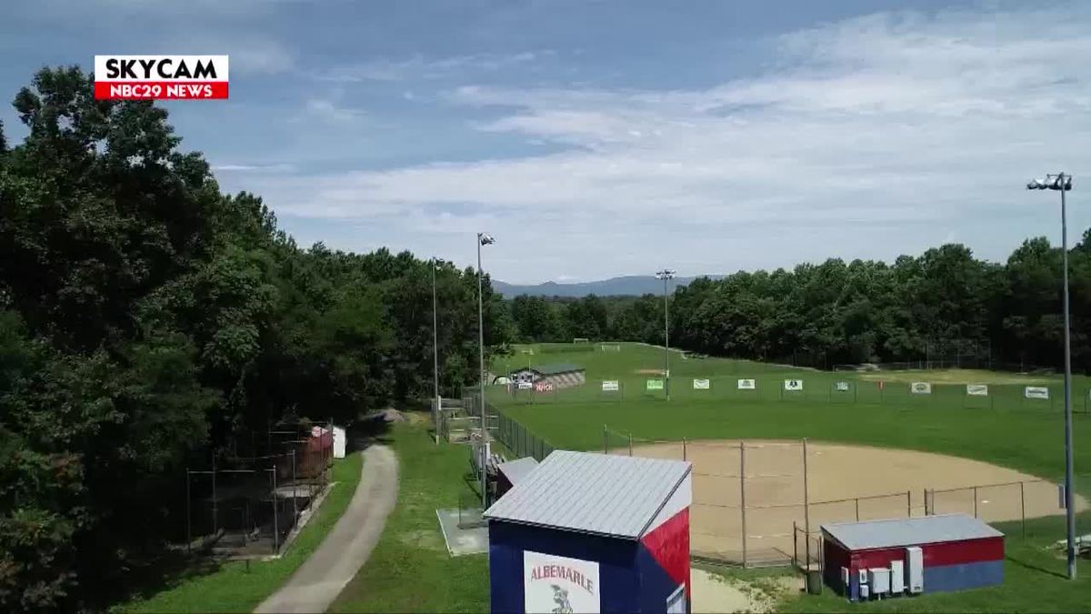 NBC29 Skycam: Albemarle High School Sports Fields