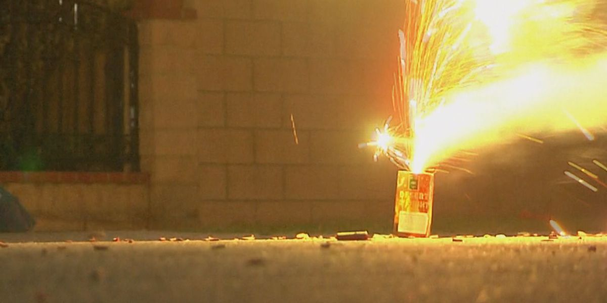 Dozens of illegal firework complaints called in over holiday weekend