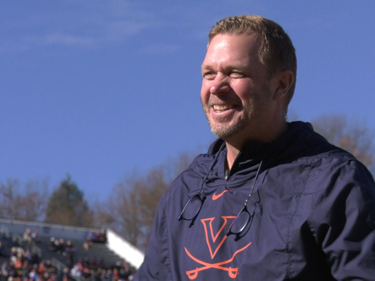 UVA football head coach Bronco Mendenhall excited for 'Challenging' schedule this fall