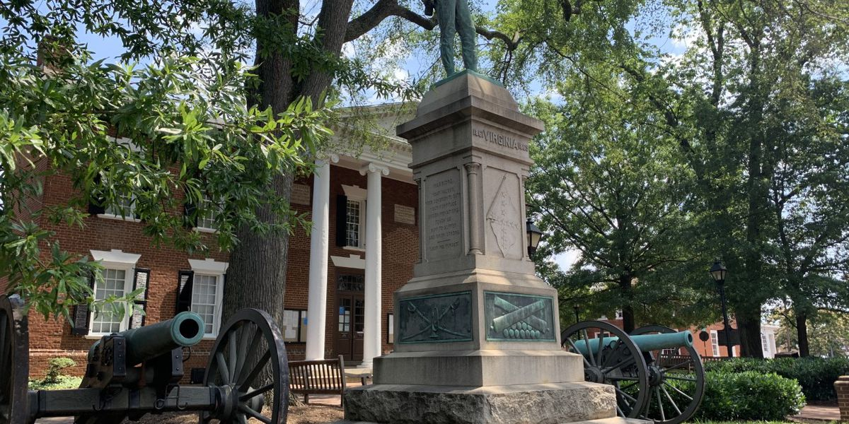 """Albemarle County to remove """"At Ready"""" confederate statue following public hearing"""
