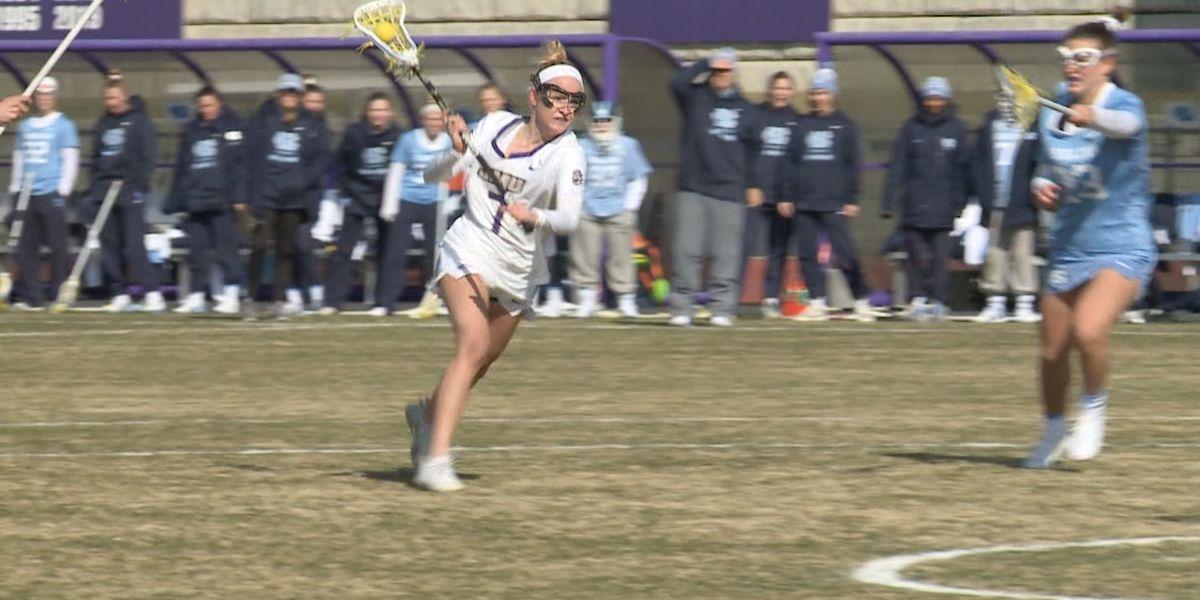 JMU women's lax tops Johns Hopkins 9-6 in NCAA Tournament