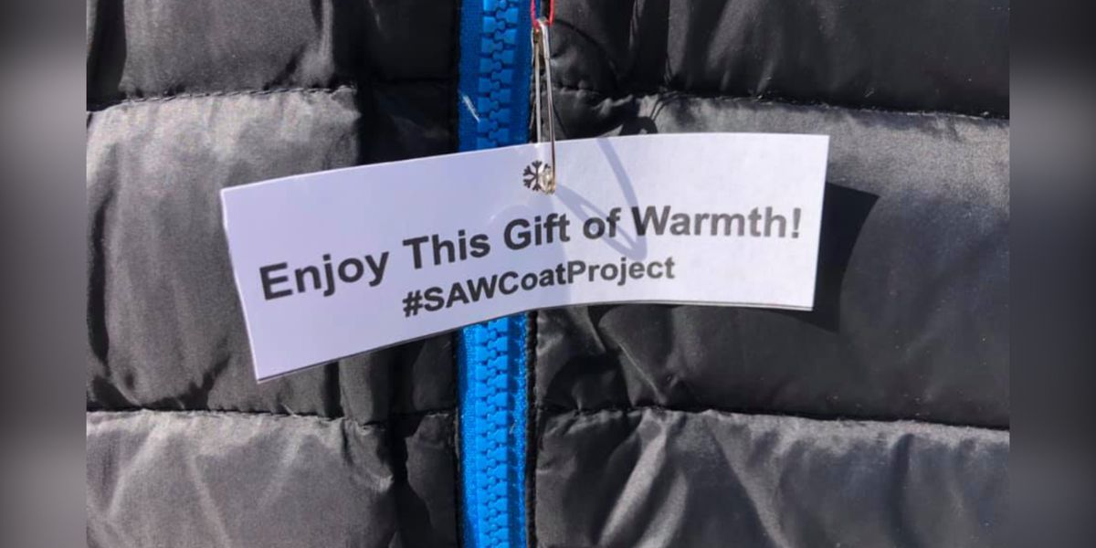 SAW Coat Project gives gift of warmth this winter