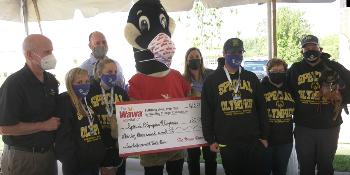 Wawa and Charlottesville police team up to support Special Olympics of Virginia
