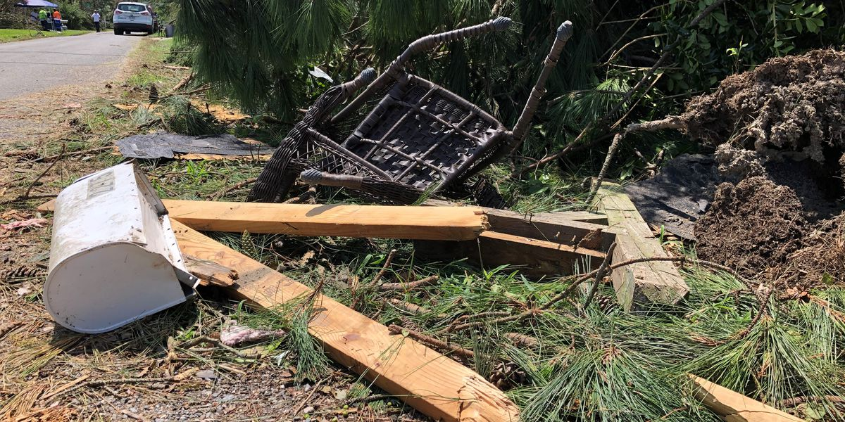 Northern Neck residents pick up the pieces after Isaias