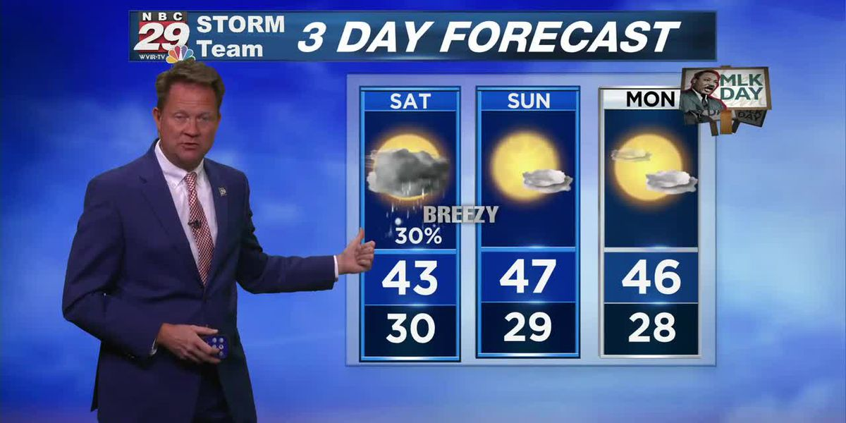 NBC29 Weather 6 PM