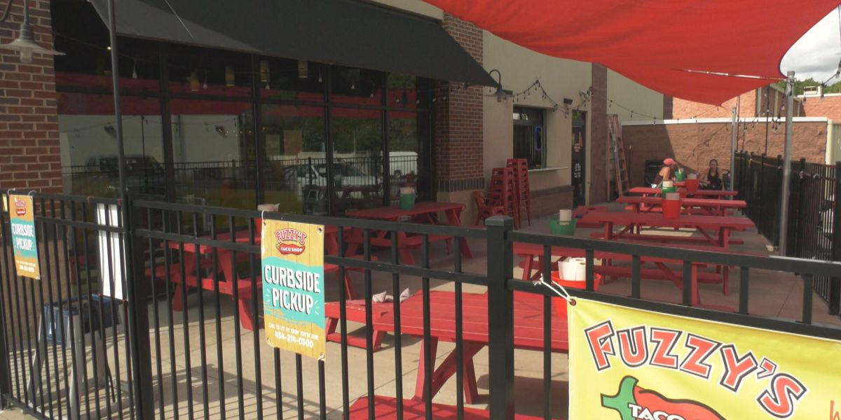 Albemarle County restaurant owner discusses outdoor seating in cold weather