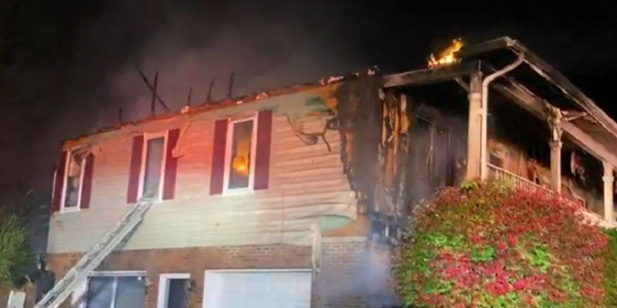 Crews respond to house fire in Augusta County
