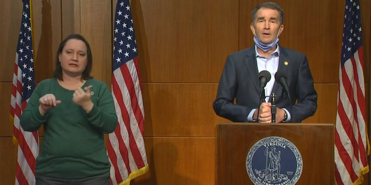 Governor Northam to deliver coronavirus briefing. Watch live here at 2 p.m.