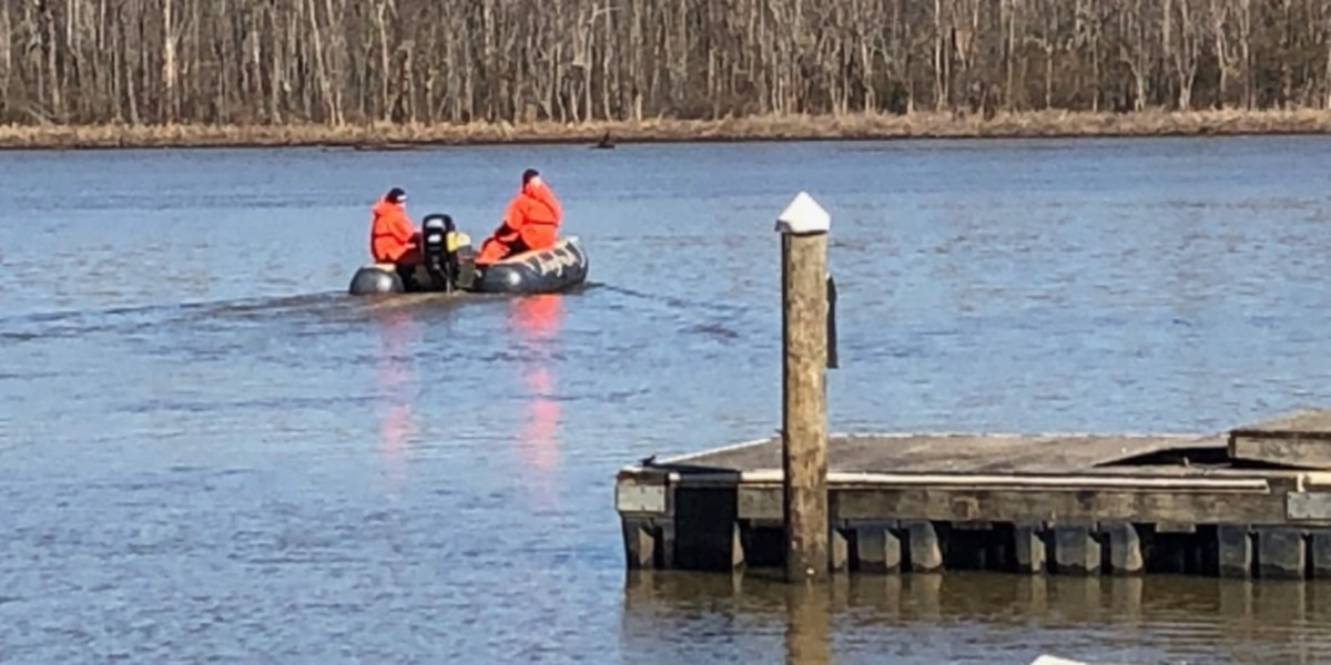 Water rescue underway in Hopewell