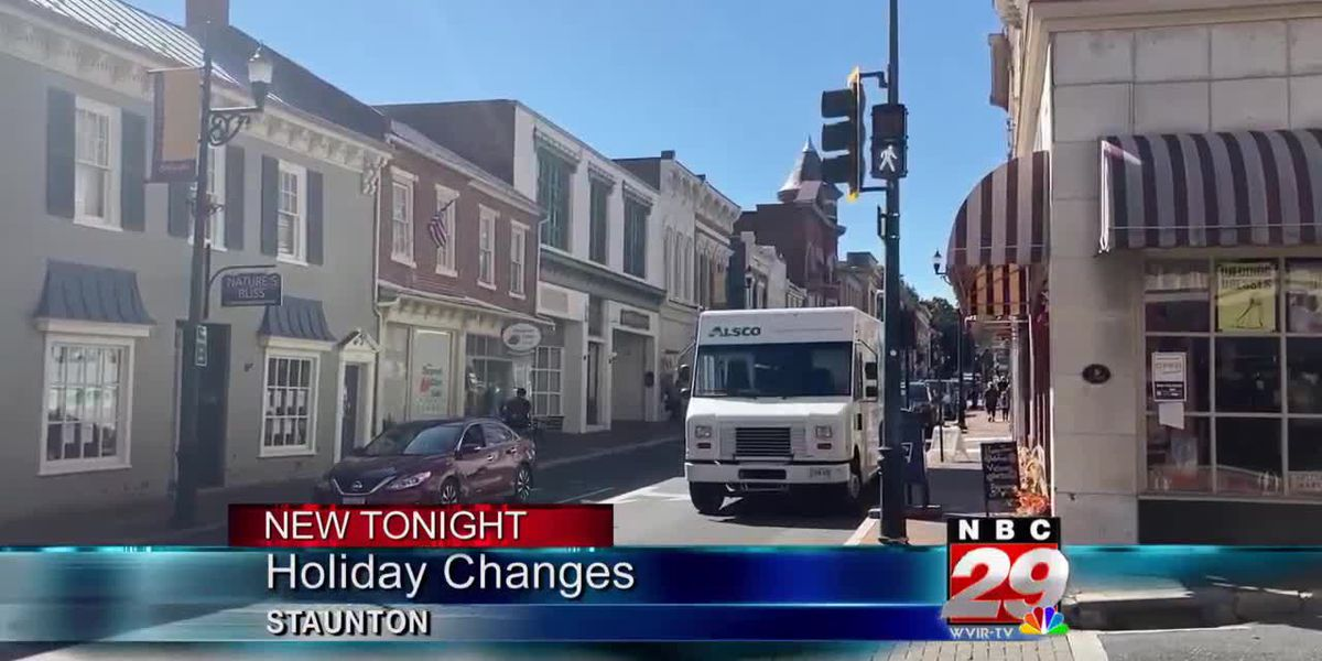 Staunton determined to safely celebrate holidays in downtown