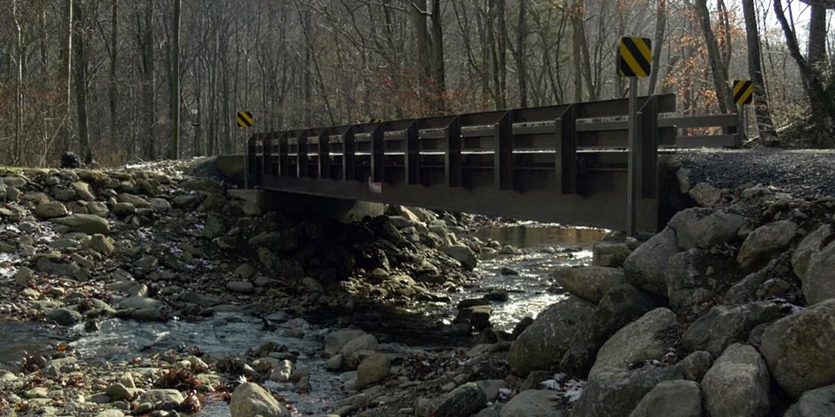 New bridge in Shenandoah National Park helps people & fish