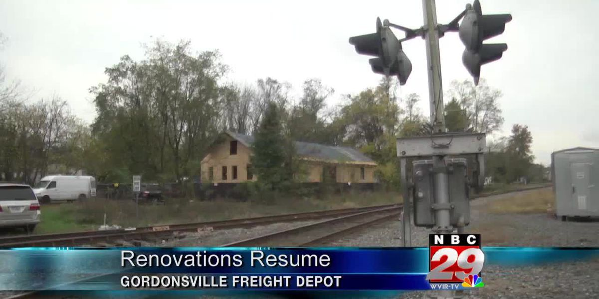 Gordonsville gets grant to resume renovations on train depot
