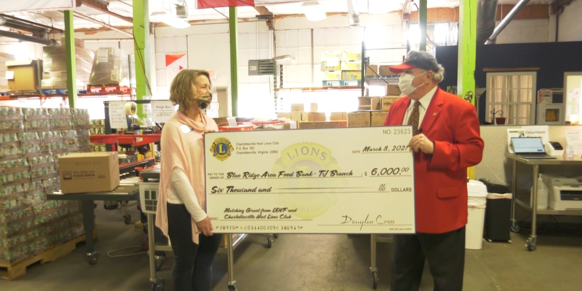 Charlottesville Host Lions Club helping to provide 24K meals to people in need
