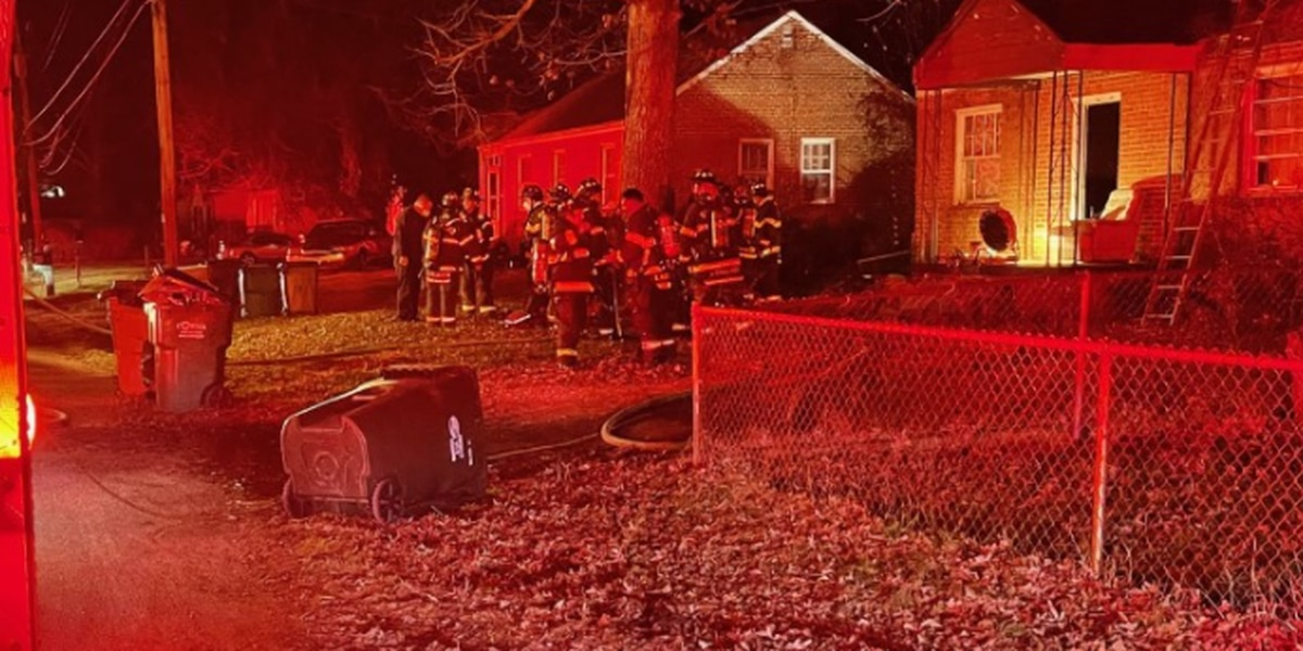 Family of five displaced after overnight fire