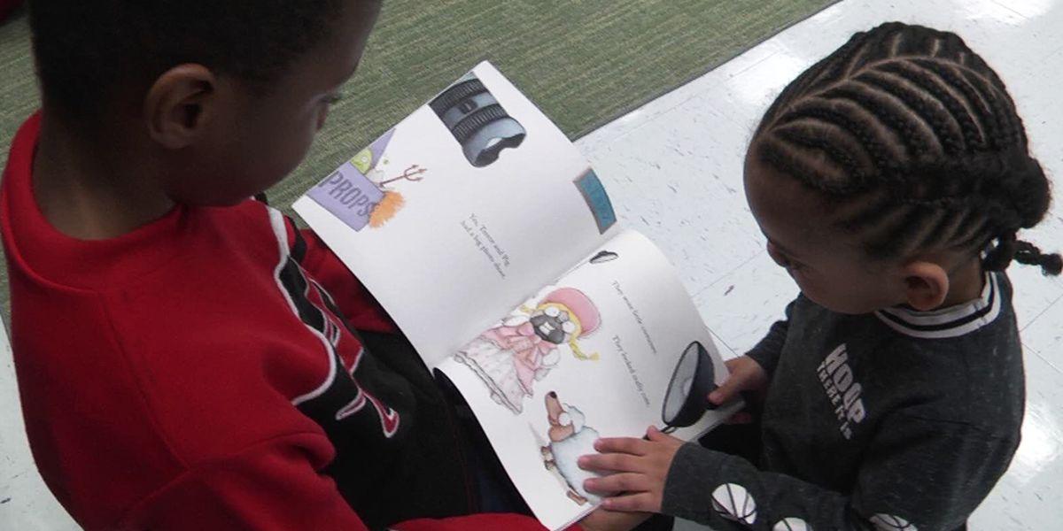 Bessie Weller Elementary School students celebrate Read Across America Week