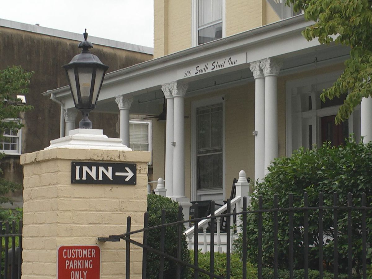 The South Street Inn in Charlottesville is up for sale