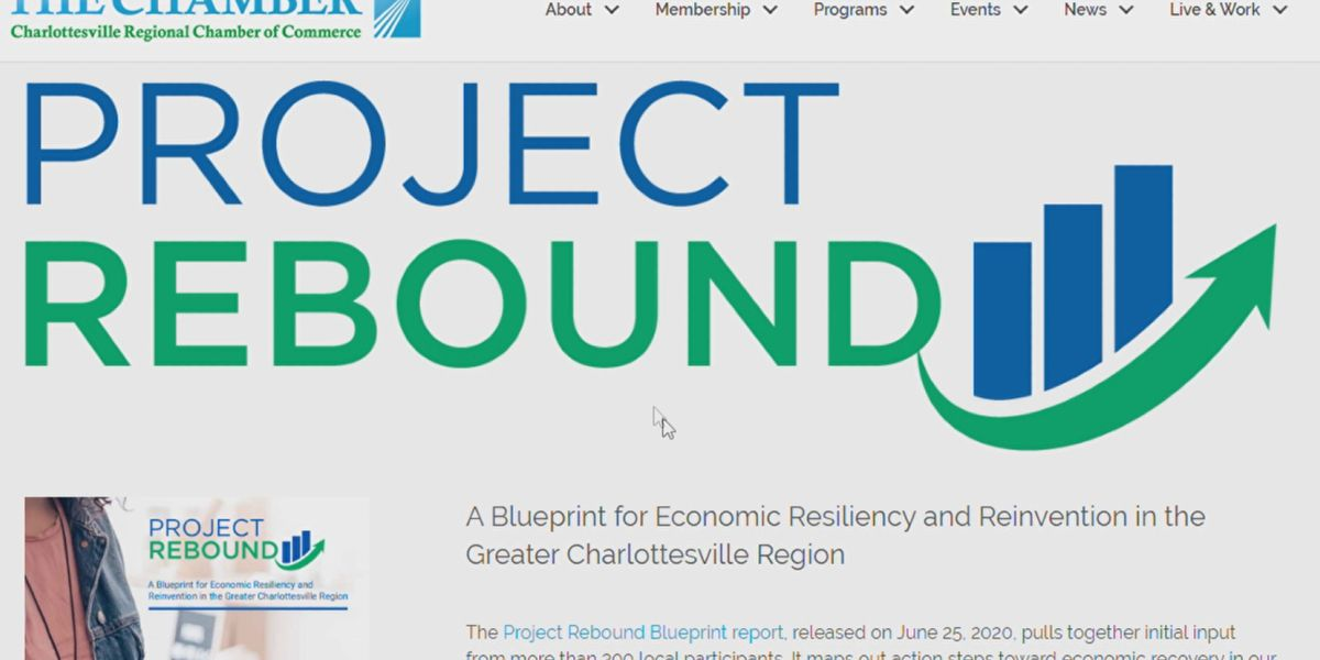 Project Rebound Blueprint charts course to regional economic recovery