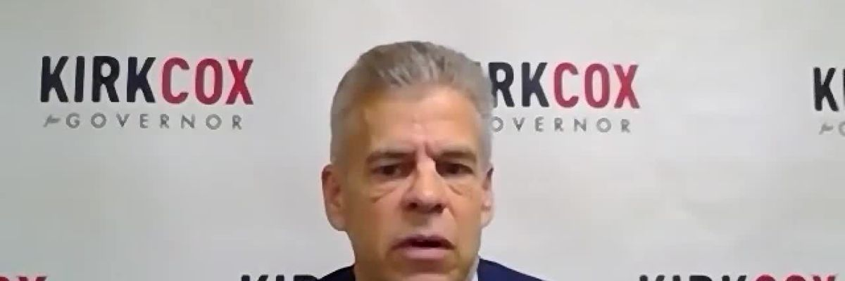 Kirk Cox weighs in on presidential election and COVID recovery plan