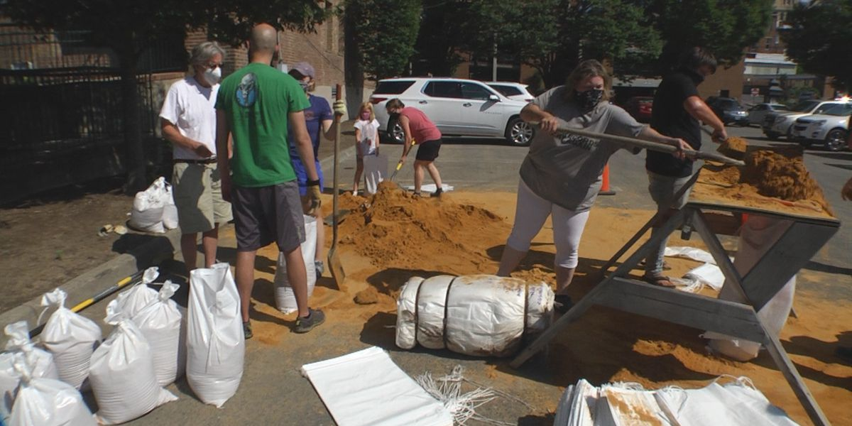 City of Staunton makes sandbags available to homeowners and businesses