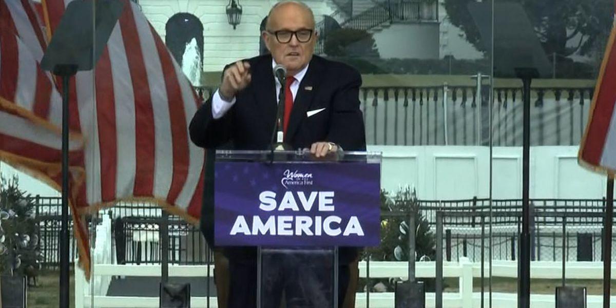 Voting company Smartmatic sues Fox, Giuliani over election fraud claims