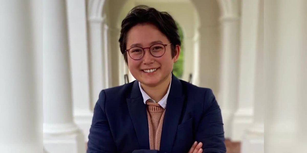 UVA's Abel Liu makes history as first trans, Chinese-American student council president